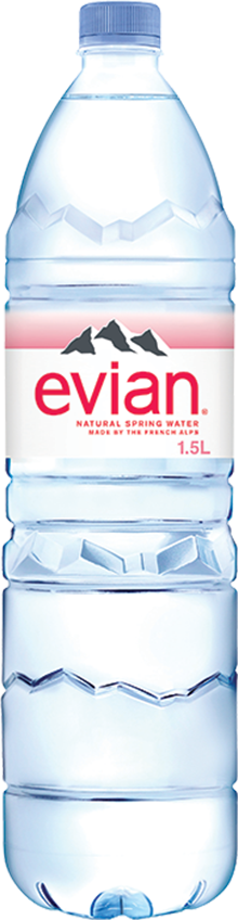 evian® 1.5 Liter Bottle