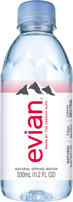 evian® Water 330 mL Bottle