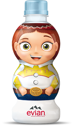 evian® Jessie Toy Story Water Bottle