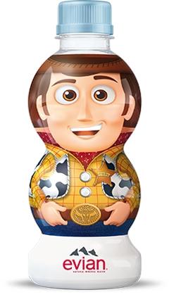 evian® Woody Toy Story Water Bottle